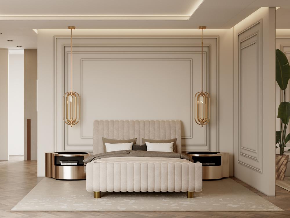 Master Bedroom contemporary modern MEET THE MASTER BEDROOM – CONTEMPORARY MODERN PENTHOUSE 1 5