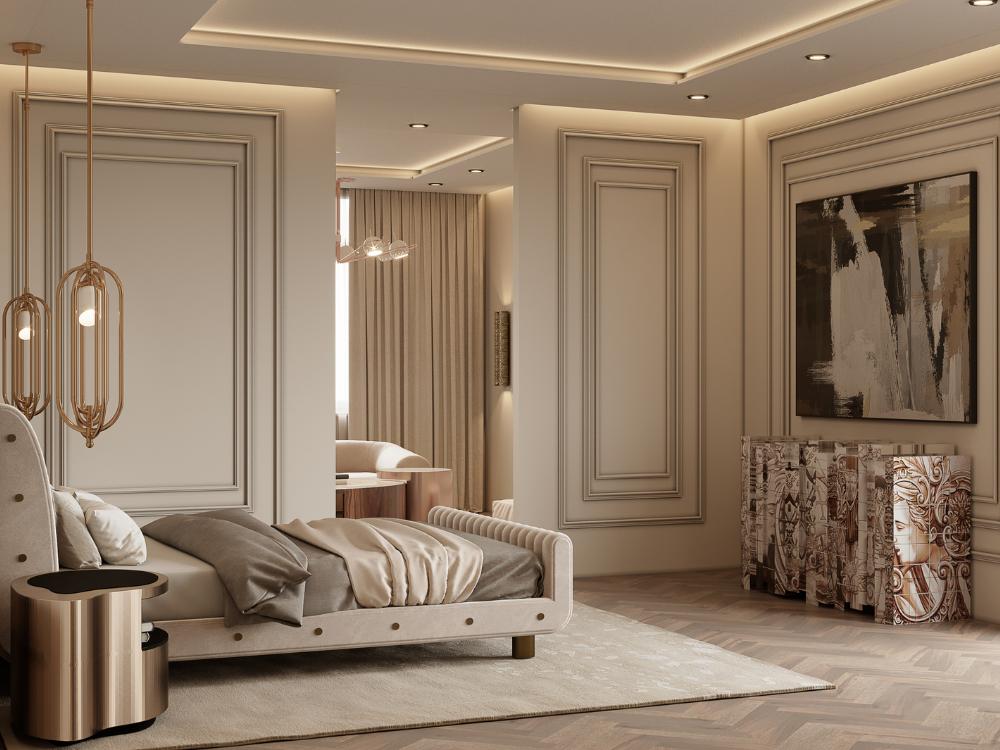 Master Bedroom contemporary modern MEET THE MASTER BEDROOM – CONTEMPORARY MODERN PENTHOUSE 3 5