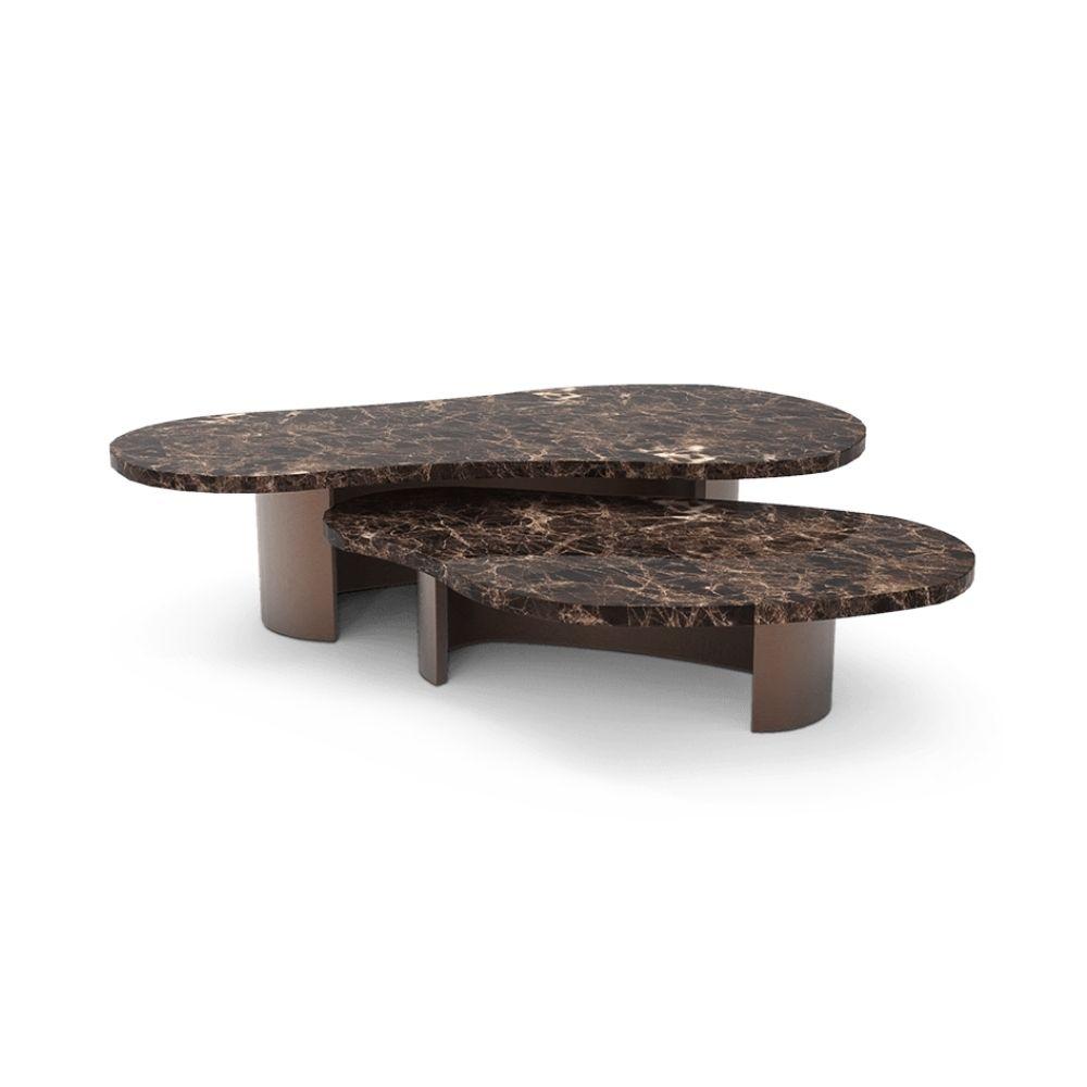 Robusta Center Table monique gibson Designer Monique Gibson Designs a Tribeca Aerie in Cream Tones 3