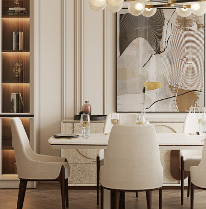 Dining Room contemporary modern MEET THE LIVING AND DINING ROOM – CONTEMPORARY MODERN PENTHOUSE IN MONACO Design sem nome 5 1 405x410
