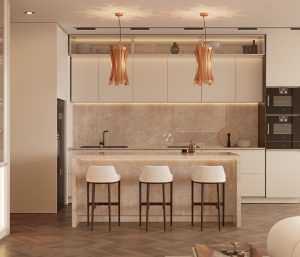 Kitchen modern Searching for inspiration? Find these Contemporary Modern Interior Designs! Kitchen 300x257