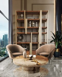 caffeine bookcase living room modern Searching for inspiration? Find these Contemporary Modern Interior Designs! caffeine bookcaselivingroom 241x300