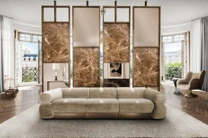 living room arabica screen modern Searching for inspiration? Find these Contemporary Modern Interior Designs! livingroomarabica screen 300x200