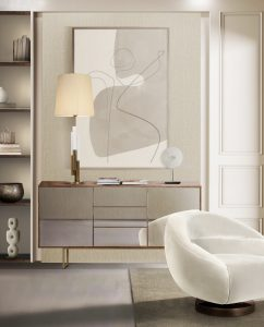 minimalneutrallivingroom modern Searching for inspiration? Find these Contemporary Modern Interior Designs! minimalneutrallivingroom 242x300