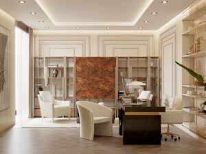 modern office modern Searching for inspiration? Find these Contemporary Modern Interior Designs! modern office 300x225