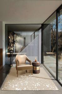 sugar rug modern living room modern Searching for inspiration? Find these Contemporary Modern Interior Designs! sugar ruglivingroom 198x300